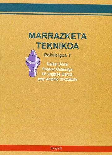 9788497461207: Marrazketa Teknikoa 1Batxilergoa/ - 9788497461207
