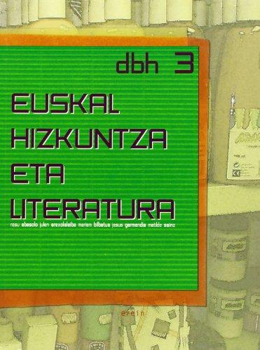9788497461818: Euskal Hizkuntza eta Literatura DBH 3