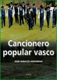 9788497463645: Cancionero popular vasco
