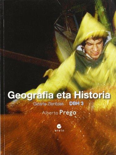 9788497464321: Geografia eta Historia DBH 3-9788497464321