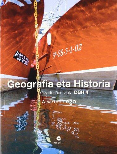 9788497464987: Geografia eta historia, 4 DBH : Gizarte zientziak
