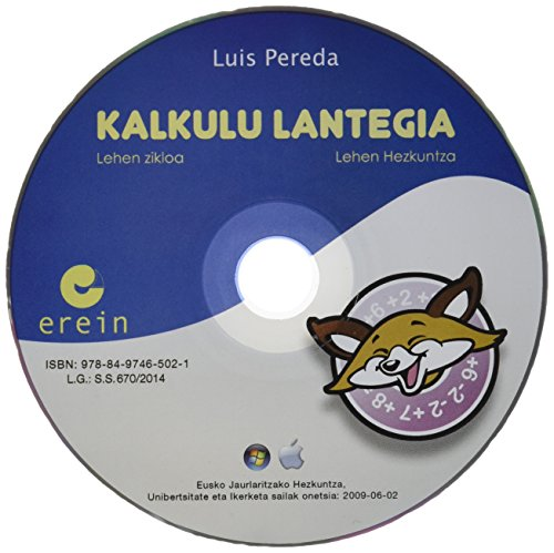 9788497465021: Matematika 1 + 1 CD: Kalkulu Lantegia