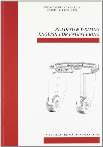 9788497470216: Reading and writing english for engineering (Manuales)