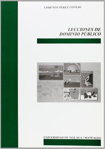 9788497470490: Lecciones de dominio público (Manuales)