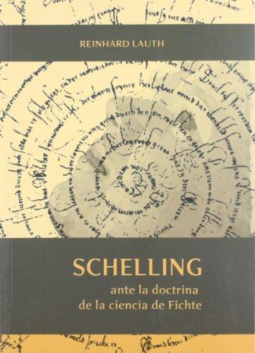 SCHELLING ANTE LA DOCTRINA DE LA CIENCIA: LAUTH, Reinhard