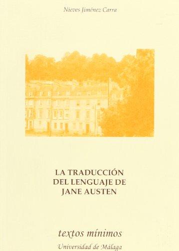 9788497472326: La traducción del lenguaje de Jane Austen (Textos Mínimos)