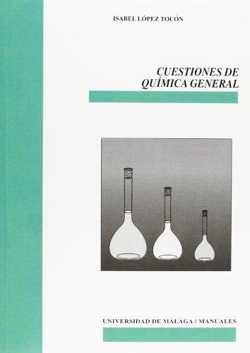 9788497472661: Cuestiones de Química General