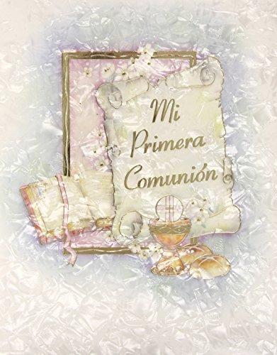 9788497481106: Recuerdo Comunión Grande Nácar Destellos musical Mod. CG-12