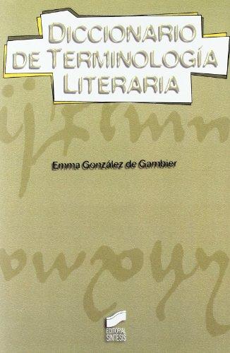 9788497560207: Diccionario de terminología literaria