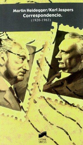 9788497560795: Martín Heidegger, Karl Jaspers: correspondencia (1920-1963) (Perspectivas)