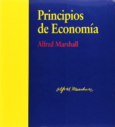 PRINCIPIOS DE ECONOMÍA.: MARSHALL, ALFRED.