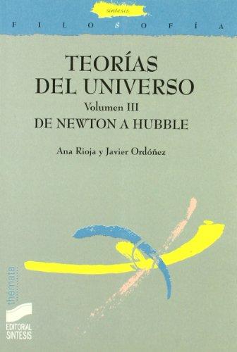 9788497564250: Teorias del Universo - Volumen III (Spanish Edition)