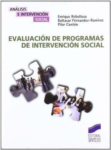 9788497565691: Evaluación de programas de intervención social (Análisis e intervención social)