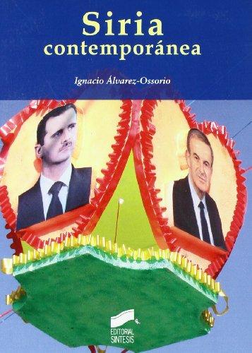 9788497566414: Siria contemporánea (Escenario internacional)