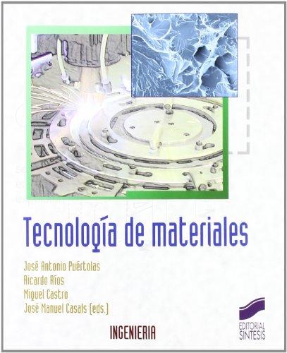 9788497566537: Tecnologia de Materiales (Síntesis ingeniería)