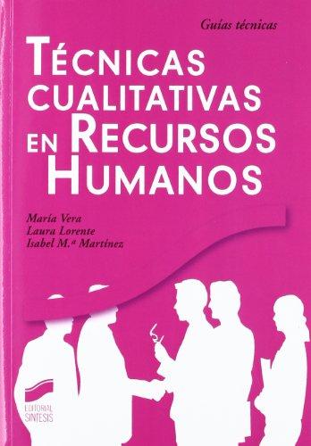 9788497568166: TECNICAS CUALITATIVAS DE RECURSOS HUMANOS