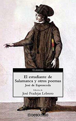9788497590686: El estudiante de Salamanca y otros poemas (CLASICOS)