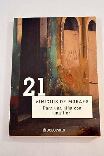 9788497592147: Para una nina con una flor / For a Girl with a Flower