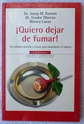 9788497596831: ¡quiero dejar de fumar!
