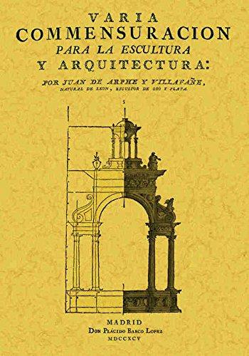 9788497610384: VARIA CONMESURACION PARA LA ESCULTURA Y ARQUITECTURA