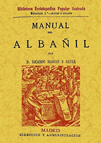 9788497610575: Manual del albañil