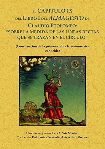 Imagen de archivo de ALMAGESTO SOBRE LAS MEDIDAS DE LAS LINEAS RECTAS a la venta por KALAMO LIBROS, S.L.