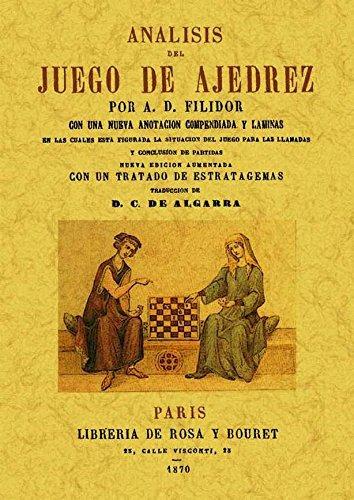 9788497611251: Analisis del juego del ajedrez. Edicion Facsimilar (Spanish Edition)