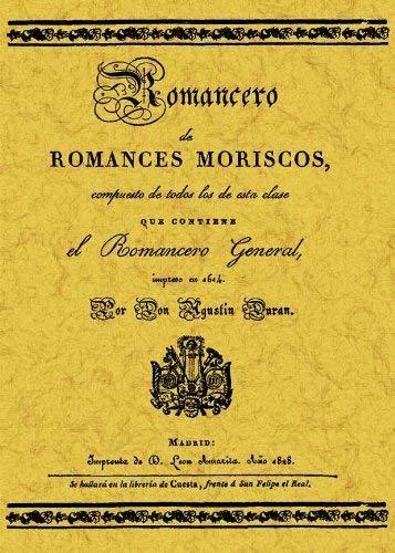 9788497611268: Romancero español : (romances moriscos)