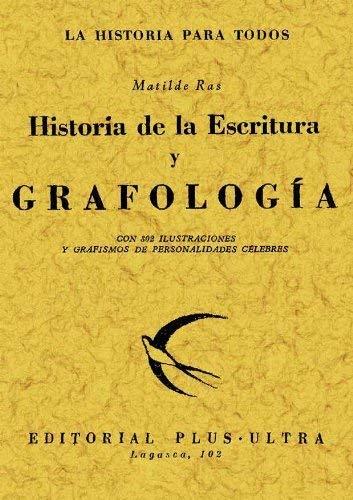 9788497612388: Historia de la escritura y grafologia. Edicion Facsimilar (Spanish Edition)