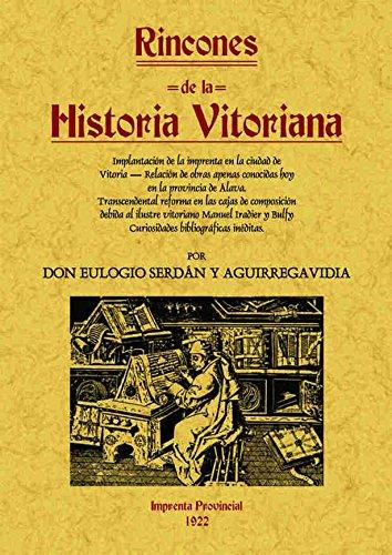 9788497614894: Rincones de la historia vitoriana