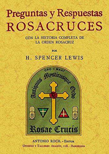 9788497616355: Preguntas y respuestas Rosacruces. Edicion Facsimilar (Spanish Edition)