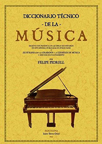 9788497616379: Diccionario técnico de la música