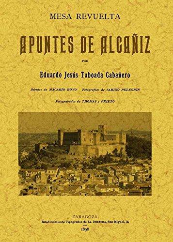 9788497616430: Mesa Revuelta. Apuntes de Alcañiz