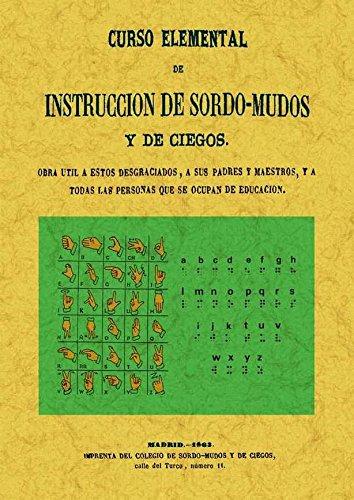 9788497617895: Curso elemental de instrucción de sordo-mudos