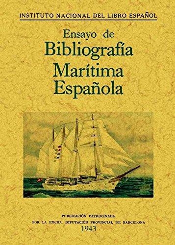 9788497617956: ENSAYO DE BIBLIOGRAFICA MARITIM