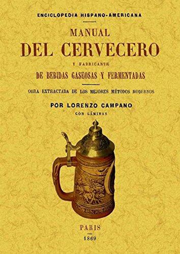 9788497618687: Manual del cervecero y fabricante de bebidas gaseosas y fermentadas