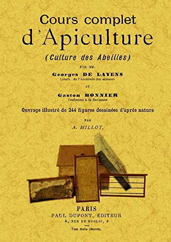 9788497619370: COURS COMPLET D'APICULTURE