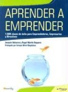 Aprender Aemprender/ Learn to Be an Entrepreneur: Valcarce, Joaquin, Sequera,