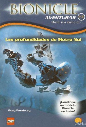 9788497632492: Las profundidades de Metru Nui/The Darkness Below (Bionicle Aventuras) (Spanish Edition)