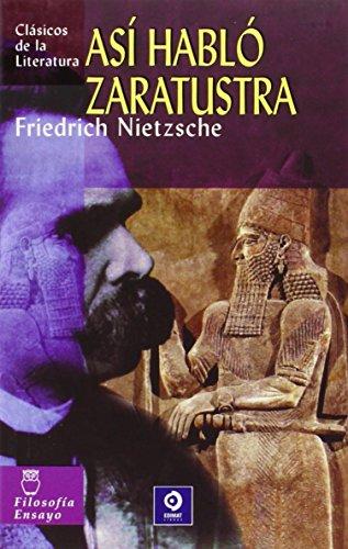 9788497644501: Así habló Zaratustra (Clásicos de la literatura universal)