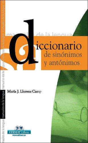 Diccionario de Sin?nimos y Ant?nimos: Maria J. Llorens