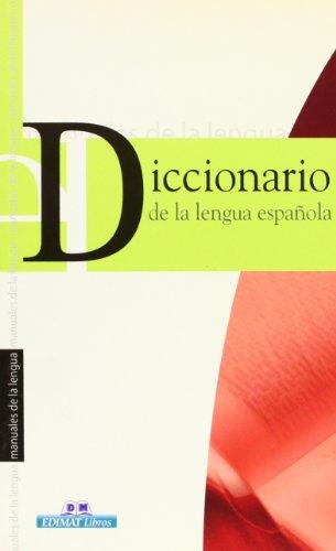 9788497647274: Diccionario de la lengua española (Manuales de la lengua series)