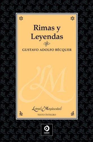 9788497649131: Rimas y leyendas (Letras mayúsculas)