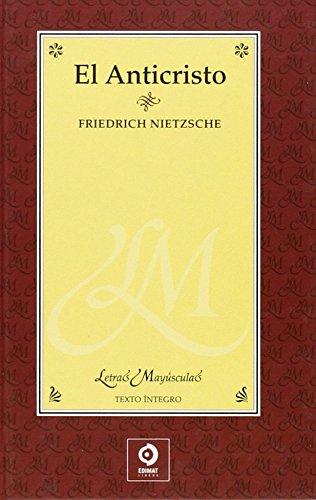 9788497649162: El anticristo (Letras mayúsculas) (Spanish Edition)