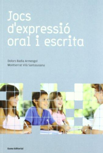 9788497662710: Jocs d'expressió oral i escrita (ed. 2009) (Did. Llengua)