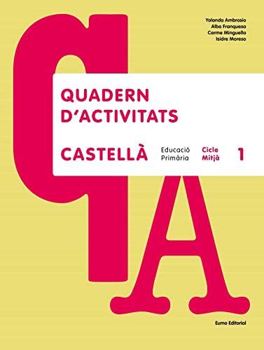 9788497664356: Castellà. Cicle Mitjà 1 (quadern)