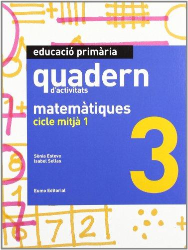 9788497664394: Quadern matemàtiques 3. Clicle mitjà 1 (Prim. Mates)