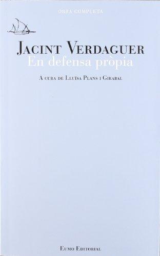 9788497664479: Jacint Verdaguer: en defensa pròpia