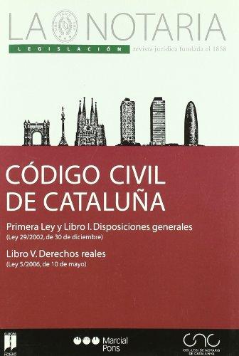 9788497683951: Codi Civil de Catalunya =: Codigo Civil de Catalu~na