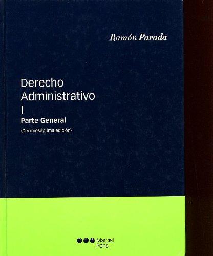 9788497684644: DERECHO ADMINISTRATIVO I (16ª ED.)
